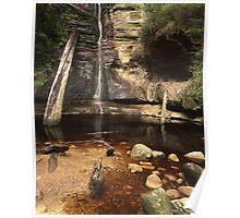 """""""Snug Falls"""" ∞ Snug, Tasmania - Australia Poster"""