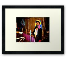 The Weight of Tradition Framed Print