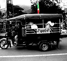 Burmese Tuk Tuk by dher5
