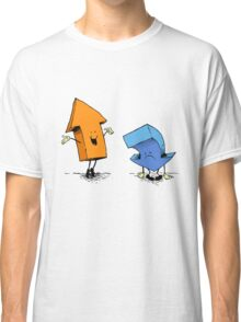 up and down show (alternate version) Classic T-Shirt