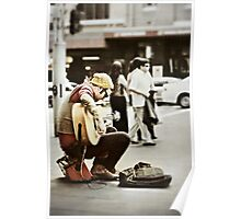 The Busker... Poster