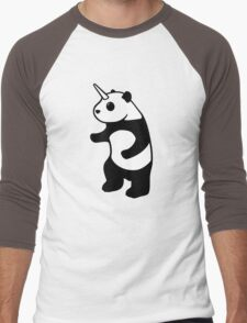 Pandicorn Men's Baseball ¾ T-Shirt