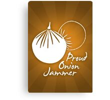 Onion Jammer Canvas Print