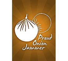 Onion Jammer Photographic Print