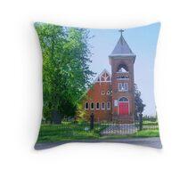 Saint Marks Apostolic Church Throw Pillow