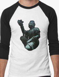 Buddha Statue Men's Baseball ¾ T-Shirt