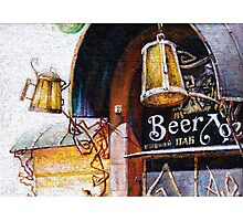 Pub and Beer Photographic Print