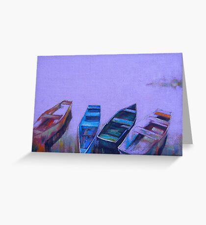 Boats Greeting Card
