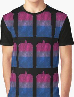 Bi Pride Police Box Graphic T-Shirt