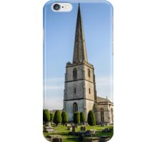 Parish Church of Saint Mary in Painswick, The Cotswolds iPhone Case/Skin