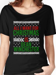 All I Want For Christmas (Dean Winchester) Women's Relaxed Fit T-Shirt