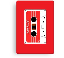 Mixtape Cassette Tape by Chillee Wilson Canvas Print