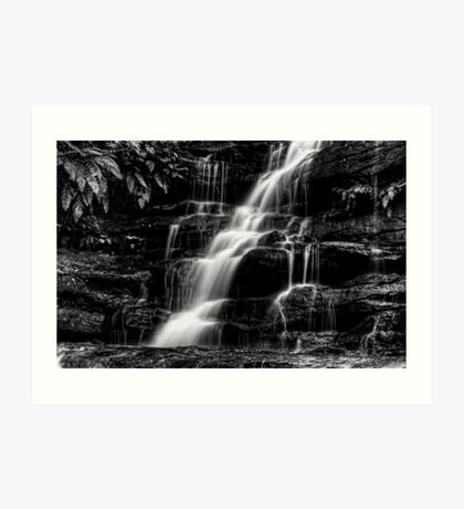The Thin Motion ~ b&w Art Print