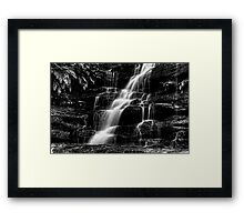 The Thin Motion ~ b&w Framed Print