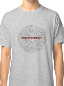 Whedonverse Classic T-Shirt