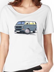 VW T25 / T3 Grey Women's Relaxed Fit T-Shirt