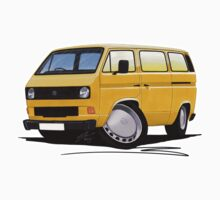 VW T25 / T3 Mustard by Richard Yeomans