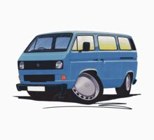 VW T25 / T3 Blue by Richard Yeomans