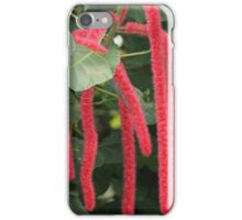 Red Hot Cat Tails iPhone Case/Skin