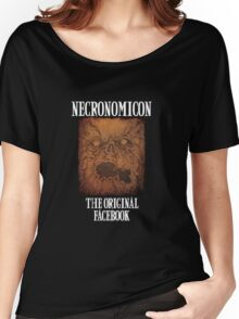 Necronomicon: The Original Facebook Women's Relaxed Fit T-Shirt