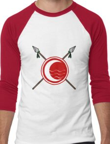 Island Water Tribe Men's Baseball ¾ T-Shirt
