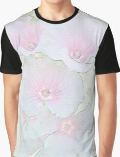 Lavatera Blossoms  Graphic T-Shirt