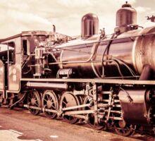 Vintage Train Sticker