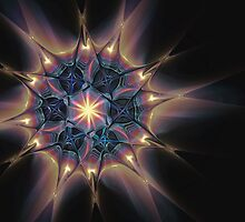 Fractal Web by Pam Amos