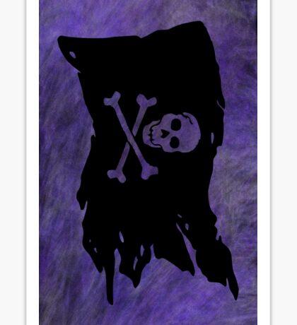 Pirate flag 44 V by Chandra Nyleen Sticker
