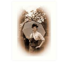 Sepia Victoriana Art Print