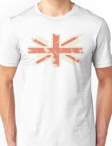 grungy UK flag Unisex T-Shirt