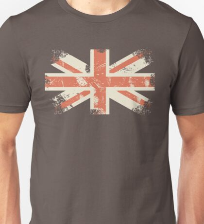 grungy UK flag Unisex T-Shirt