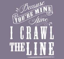 I Crawl The Line, Baby Onesie Kids Tee