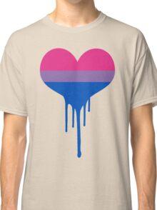 Bisexual Pride Heart Classic T-Shirt