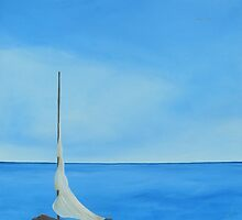 """""""Dreamboat""""  Image of an Oil Painting. by LBMcNicoll"""