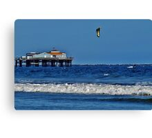 Kite Surfing #2 Canvas Print