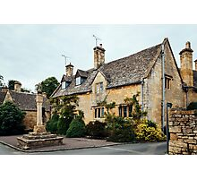 Village house in Stanton, The Cotswolds Photographic Print