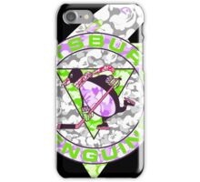 PENGUINS BLACK iPhone Case/Skin