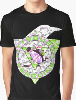 PENGUINS BLACK Graphic T-Shirt