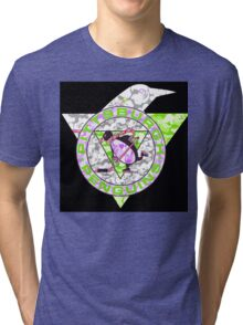 PENGUINS BLACK Tri-blend T-Shirt