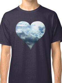 Blue Sky Heart Classic T-Shirt