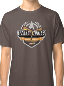 Trek.fm: Team Lizard Babies (Dark) Classic T-Shirt