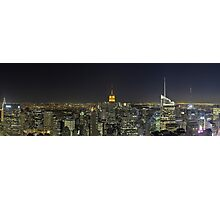 New-York Top of the Rock Skyline Overview Photographic Print