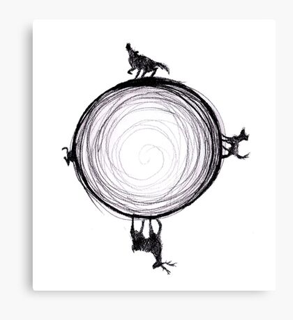 Marauders Moon Canvas Print