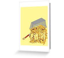 Fryday Greeting Card