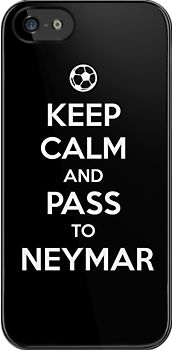 Keep Calm and pass to Neymar by aizo