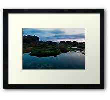 Blue Waterscapes  Framed Print