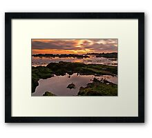 My Sunset Framed Print