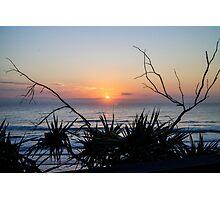 Sunrise Coolum Beach Photographic Print