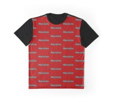 Baconista - Hashtag - Black & White Graphic T-Shirt
